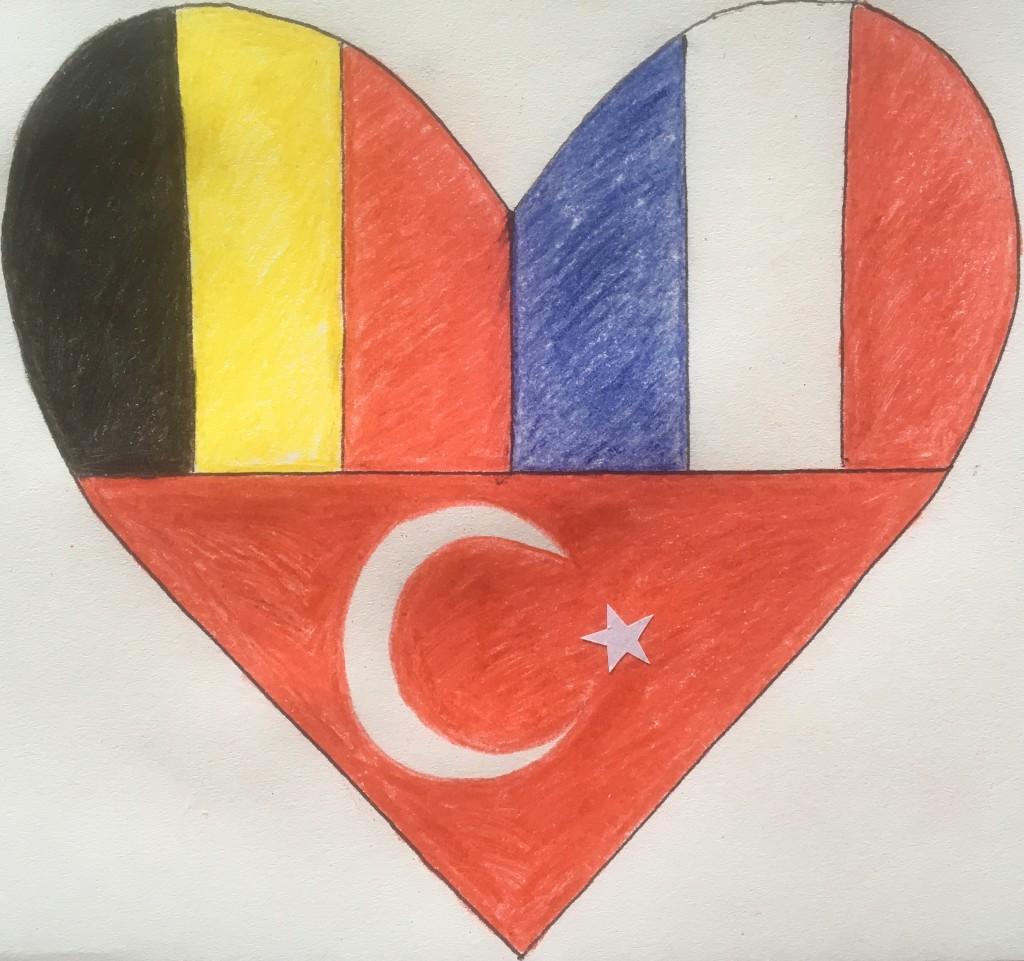 Belgium, France, Turkey