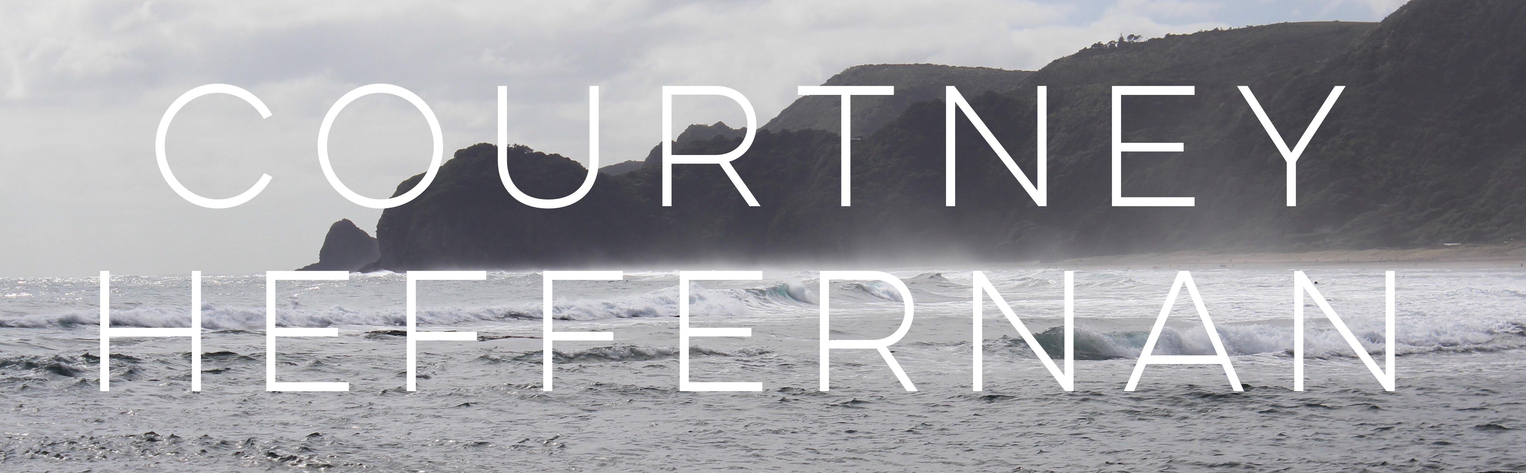 Courtney Heffernan blog header image
